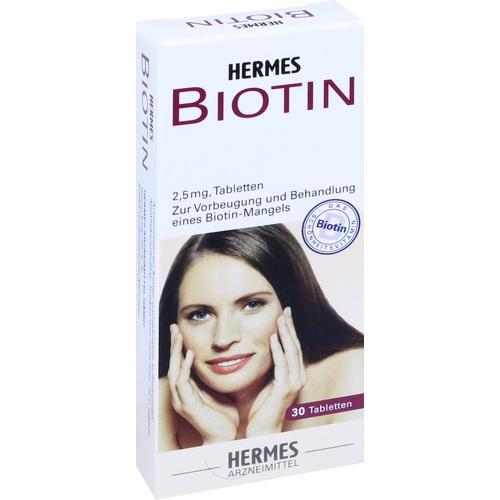 biotin hermes 2 5 mg tabletten 30 st von hermes. Black Bedroom Furniture Sets. Home Design Ideas